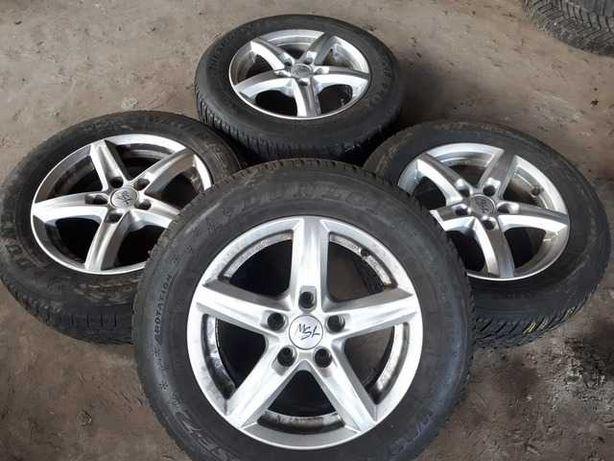 Диски R15 5x112 Brock Alloy Wheels Audi MG Seat Skoda Volkswagen