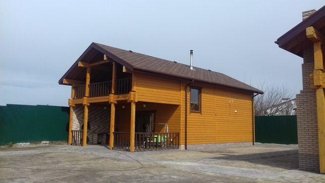 Сдам на летний сезон деревянный дом у воды Осещина