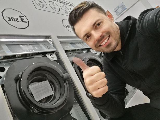 Máquina de lavar roupa Self service 16kg
