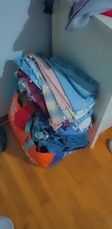 Saco roupa menino 2/3 anos
