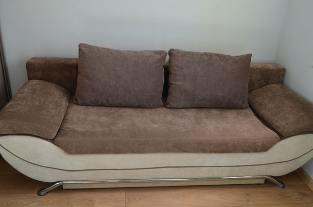 Wersalka Kanapa Sofa duża/ na wysoką osobę do spania 212 x 130