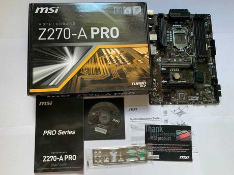 Материнская плата MSI Z270-A Pro