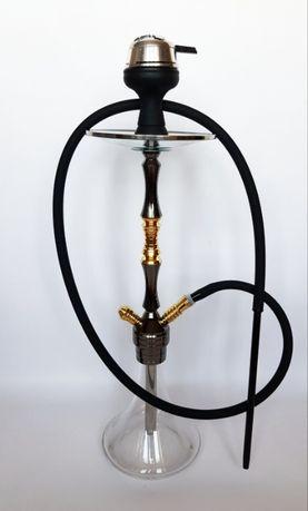 Кальян Khateeb Premium 60 см НЕРЖАВЕЙКА (калауд, чаша, трубка, шланг