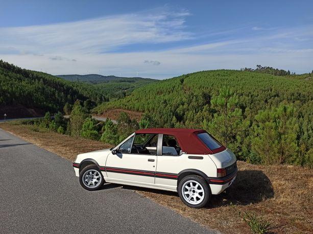 Peugeot 205 CTI 1.6 115cvs Capota Elétrica em Estado de Concurso
