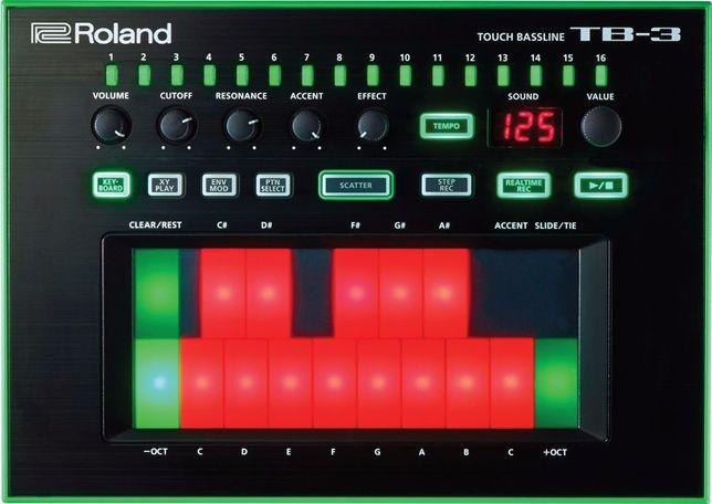 Sintetizador de Bass Roland TB-3