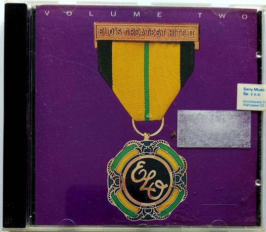 Electric Light Orchestra ELO's Greatest Hits vol.2 1992r
