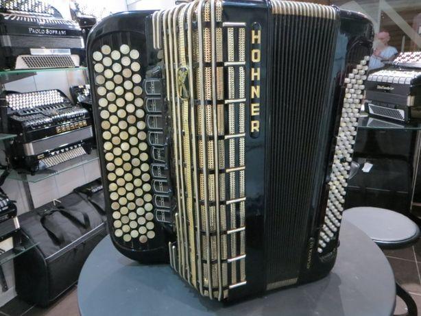 Akordeon HOHNER Atlanta 145 120 bas , podwójne cassotto MUSSETTE