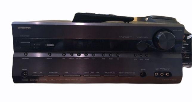 Onkyo TX SR 606 Amplituner 7.1 HDMI OPTYCZNE Wzmacniacz Dobór audio