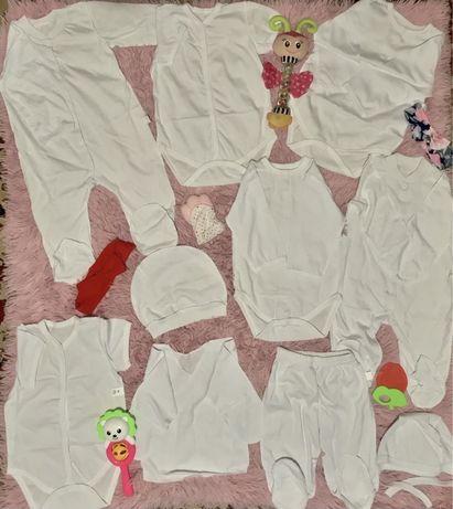 Комплект,набор вещей одежды из беби бокс человечек,боди