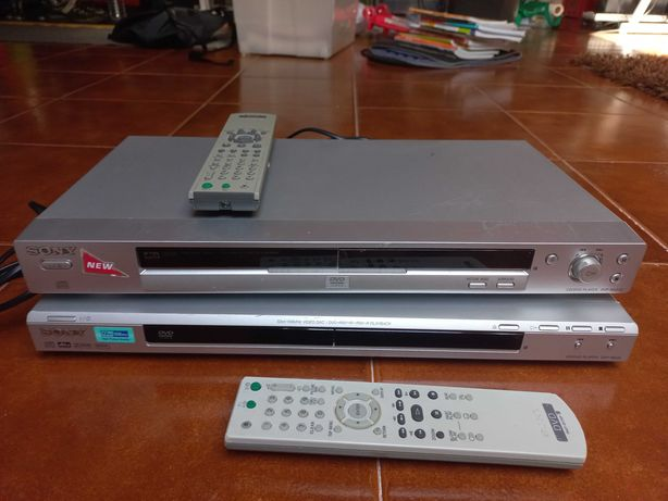 Sony Cd/Dvd Player Dvp - Ns32 e Dvp - Ns330