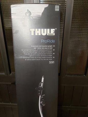 Suporte de Bicicleta Thule Proride 591 ainda embalado.