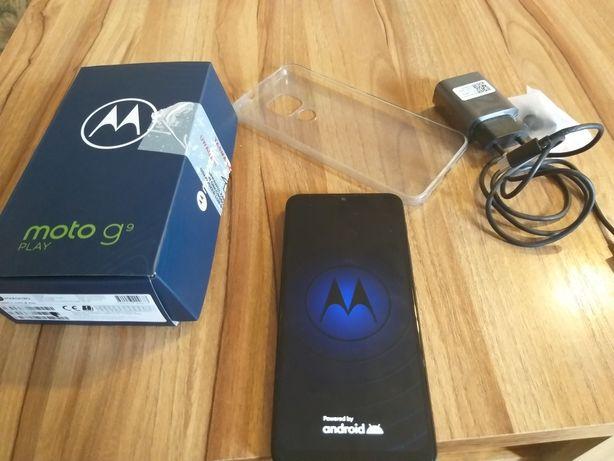 Motorola G9 Play 4/64gb zielony jak nowa