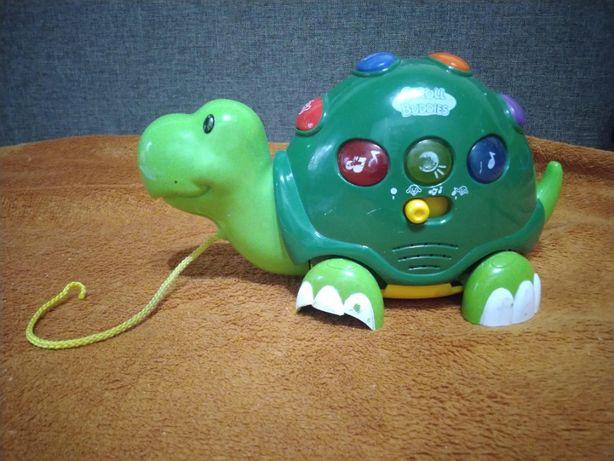 Музыкальная черепаха каталка keenway stroll buddies