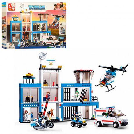 Конструктор 10 видов Лего Полицейский участок аналог 606 деталей