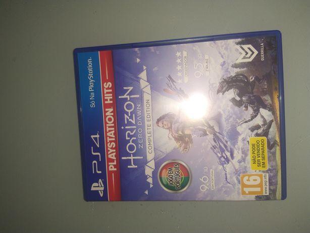 Horizon zero dawn PS4 como novo