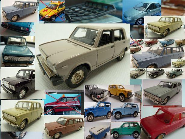 Модель машинка автомобиль СССР Саратов ВАЗ 2107 Масштаб 1:43