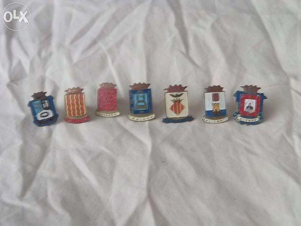 Pins antigos de províncias de Espanha