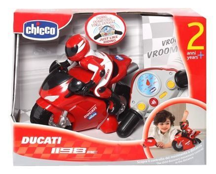 Mota telecomandada Chicco Ducati 1198 Rc