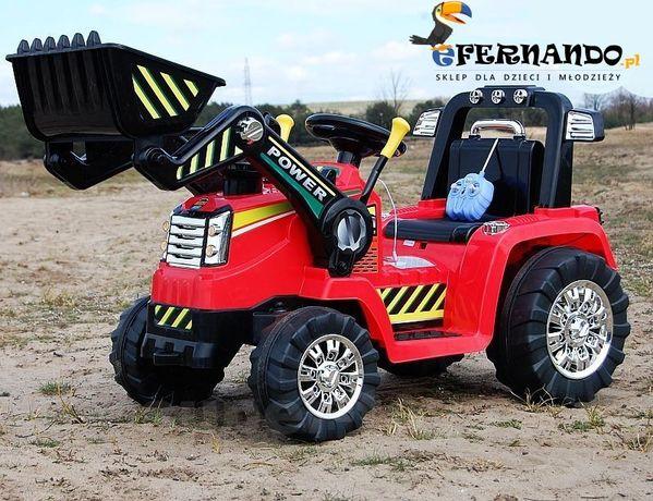 auto TRAKTOR samochód KOPARKA dla dzieci na akumulator BELARUS + pilot