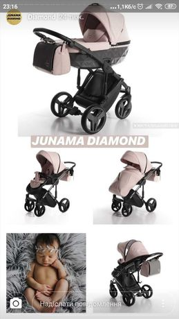 Універсальна дитяча коляска Junama Diamond
