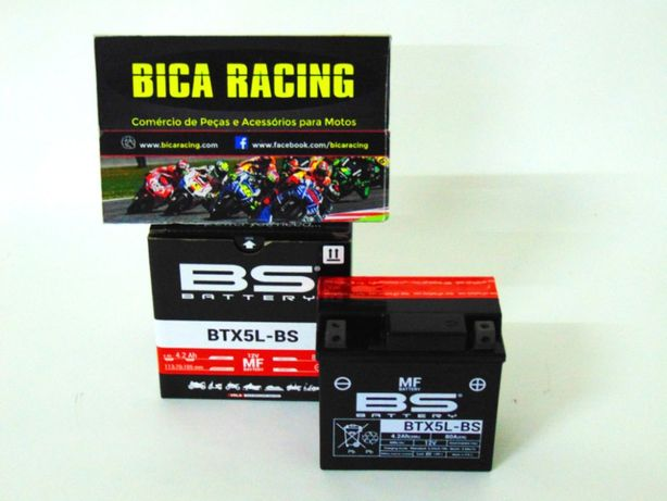 Bateria BS Battery BTX5L-BS Aprilia Honda KTM Kymco Suzuki yamaha