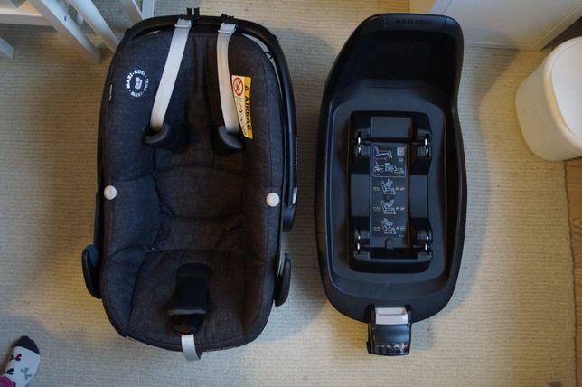 Fotelik samochodowy MAXI COSI Pebble Plus do 75cm + baza 2Way Fix