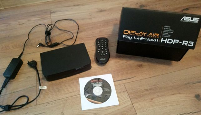 Odtwarzacz multimedialny Asus O!Play Air HDP-R3