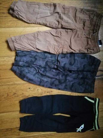 Spodnie dresowe 110-116 dla chłopca