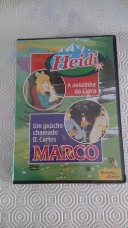 DVD Heidi originais