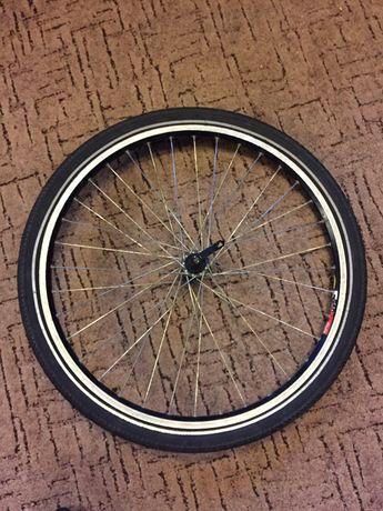 Переднее колесо, обод Mavic F519,втулка Shimano DEORE HB-M510.