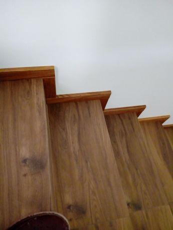 Listwa Cokół drewniany schody