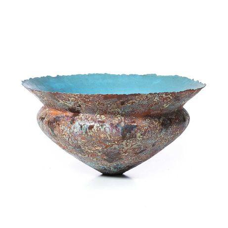 Vaso Modernista Cerâmica