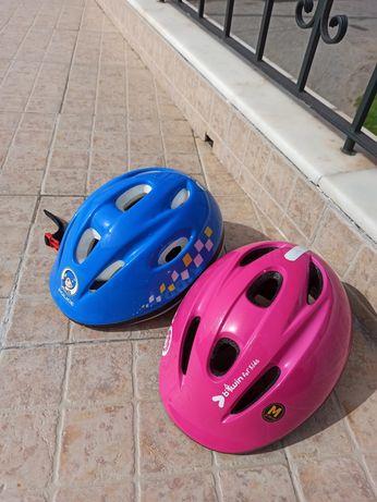 Capacetes bicicleta criança