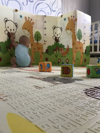 Игровой детский термоковрик. Бесплатная доставка