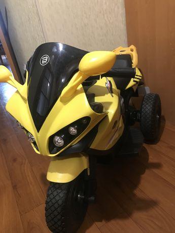 Дитячий електро мотоцикл Бембі