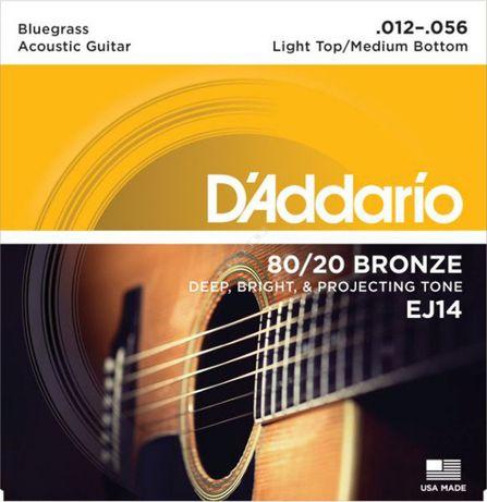 D'addario EJ14 12-56 - struny do gitary akustycznej