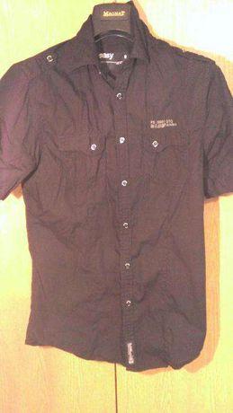 Koszula męska easy,nowa,rozmiar s,fit,taliowana,czarna.