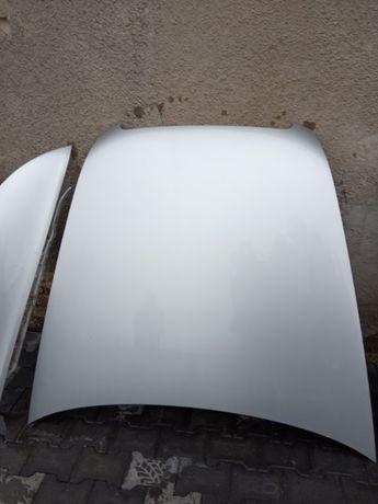 Audi A6 C6 srebrna LY7W Maska  przód