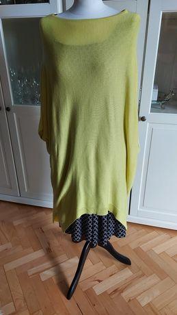 Solar - narzutka, ponczo, sweter- rozm M