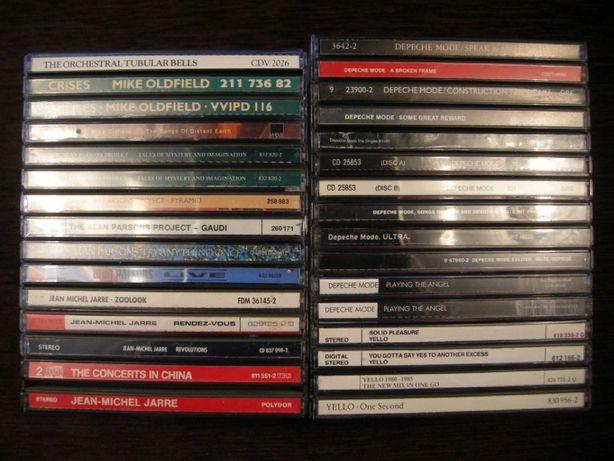 CD Mike Oldfield Alan Parsons Jarre Depeche Mode Yello фирменный