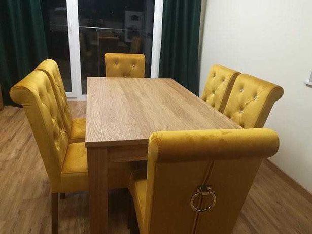 Krzesło Pikowane NOWE