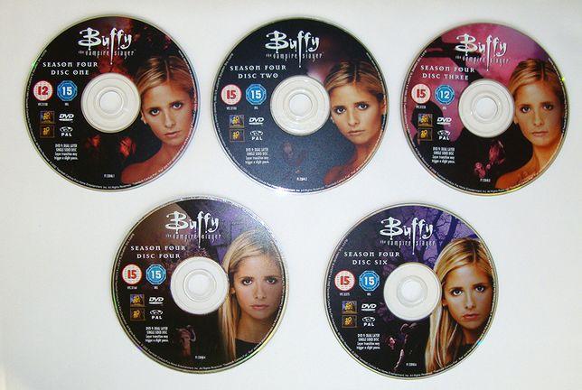 Buffy postrach wampirów the vampire slayer CD 5 płyt