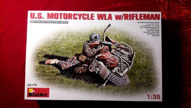 Сборная модель 1:35 U.S. Motorcycle WLA