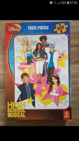Puzzle trefl disney high school musical 500 elementów