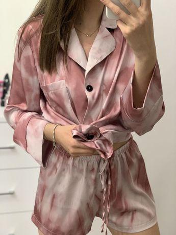 Шовкова піжама / одяг для дому