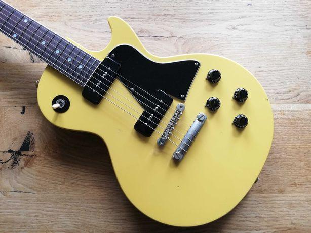 Orville Les Paul Special TV Yellow P90 Japan + case (jak LP Junior)