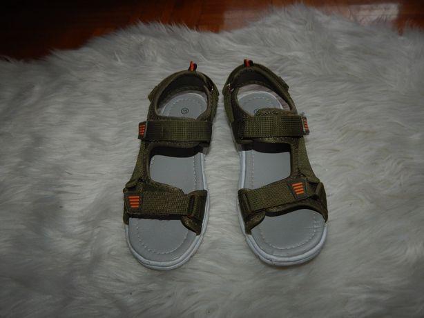 Sandalki Happy Bee khaki 35cm