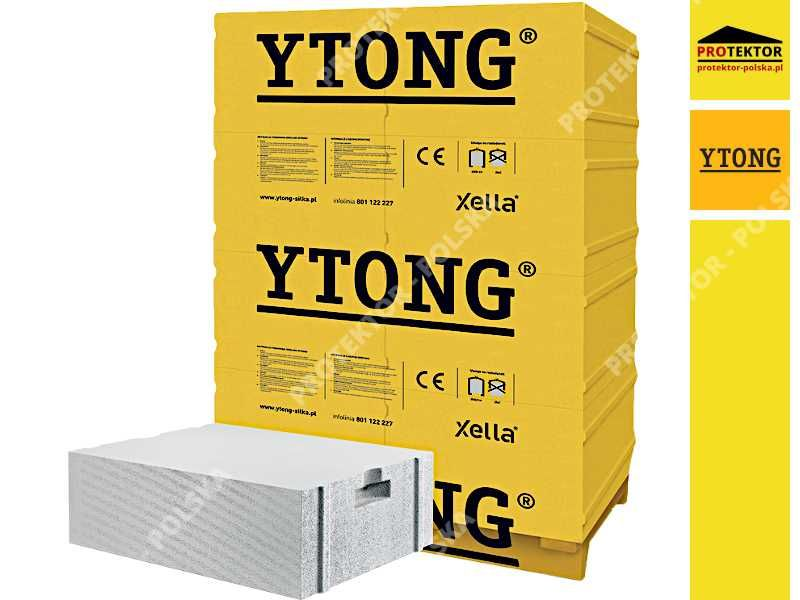 YTONG 36,5cm beton komórkowy suporex bloczek pustak energo forte h+h