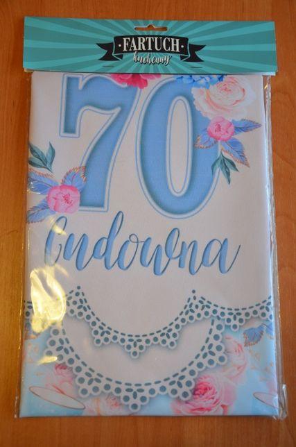 fartuch na 70 urodziny
