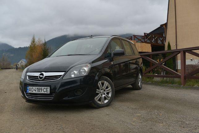 Opel Zafira 2012 7 МІСЦЬ